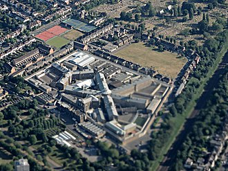 HM Prison Wandsworth - HM Prison Wandsworth from the air