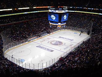 KeyBank Center - HSBC Arena during a Buffalo Sabres game