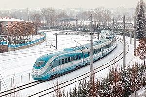 TCDD HT80000 - A TCDD HT80000 EMU in Ankara