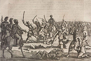 Khmelnytsky Uprising - Massacre of 3000–5000 Polish captives after the battle of Batih in 1652