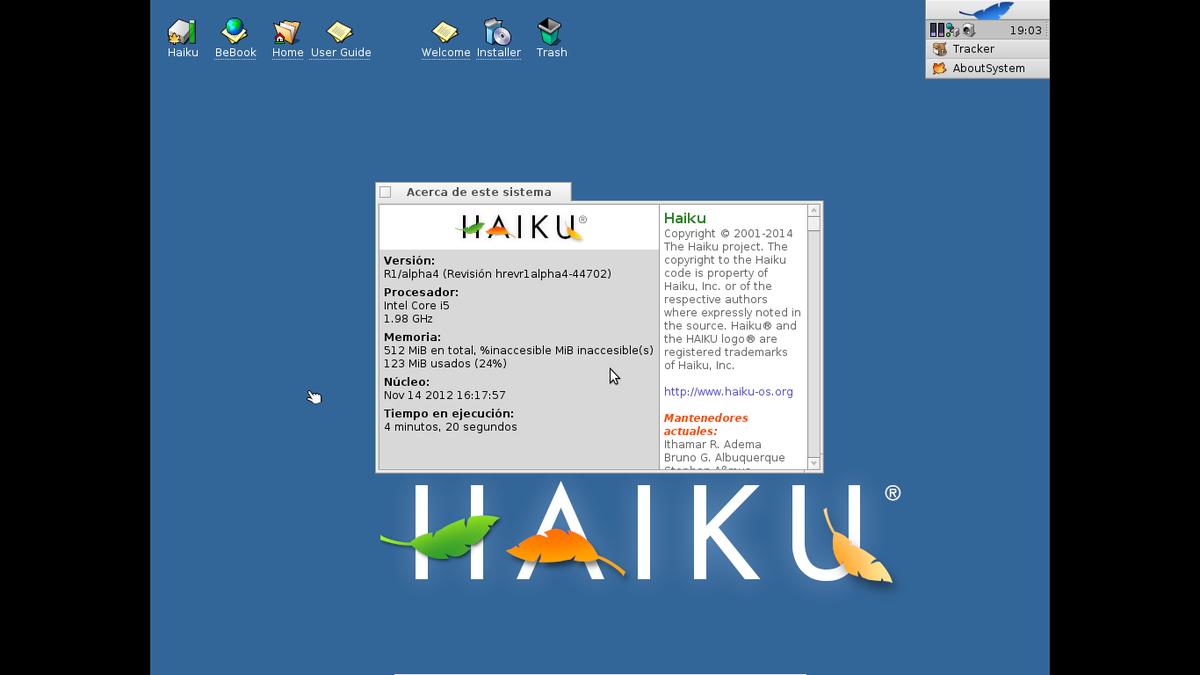 Haiku (sistema operativo) - Wikipedia, la enciclopedia libre