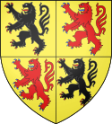 Coats of Arms of the Counts of Hainaut and Holland.