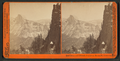 Half Dome and Nevada Fall from Moron Pt. Yosemite, by Watkins, Carleton E., 1829-1916 2.png