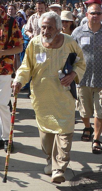 Halim El-Dabh - Halim El-Dabh at a Cleveland festival in 2009.