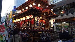 Hamamatsu Kite Festival - Yatai