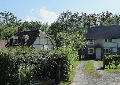 Hambledon - National Trust cottages (geograph 5783915)