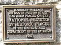 Hambley Wallace House Salisbury NC - National Register Plaque.JPG