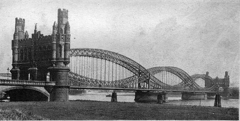 Hamburg suspension bridge (Wonder Book of Engineering Wonders, 1931).jpg