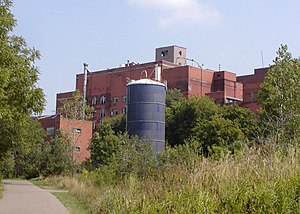 Hamm's Brewery - Brewery overlooks Swede Hollow in St. Paul