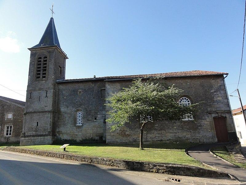 Han-devant-Pierrepont (Meurthe-et-M.) église