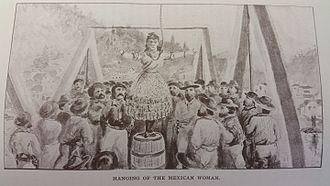 Josefa Segovia - The hanging of Juanita in Downieville
