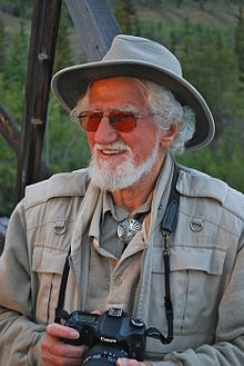 Hans Blohm on footbridge Pelly River Yukon.jpg
