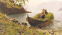 Hans Dahl - In calm waters (In stiller Bucht).jpg