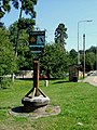 Harston village green with Harston sign - geograph.org.uk - 47348.jpg