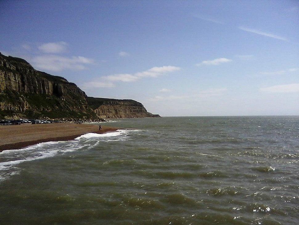 Hastings East Cliff