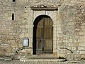 Hautefort Saint-Agnan église portail.JPG
