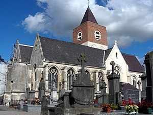 Haverskerque - Église Saint-vincent.JPG