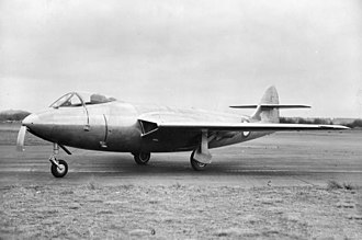 Hawker P.1052 - The first Hawker P.1052, in 1949
