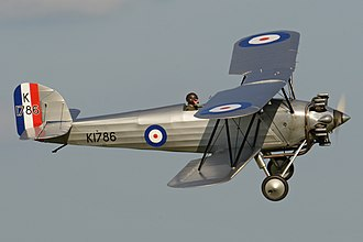 Hawker Tomtit - Shuttleworth's Tomtit G-AFTA at Old Warden
