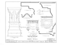Hayes Manor, East Water Street vicinity, Edenton, Chowan County, NC HABS NC,21-EDET.V,1- (sheet 16 of 17).png