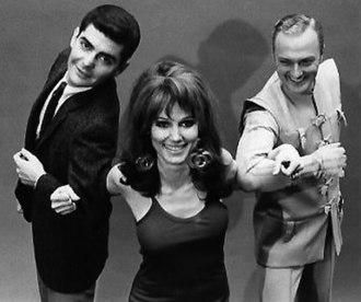 He & She - Dick Benjamin, Paula Prentiss, and Jack Cassidy, 1967
