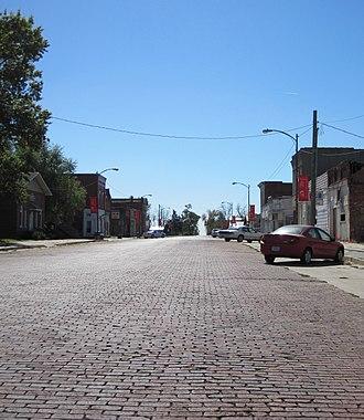 Hedrick, Iowa - Image: Hedrick iowa