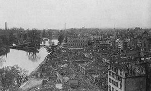 Battle of Heilbronn (1945) - Heilbronn, April 1945