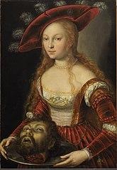 Salome mit dem Haupt Johannes d. Täufers