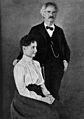 Helen Keller with Mark Twain. Wellcome M0018417.jpg