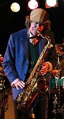 Helge Schneider Saxophone 2009