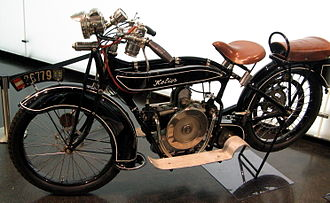 History of BMW motorcycles - 1920 Helios, made by Bayerische Flugzeugwerke with a BMW M2B15 engine
