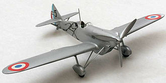 Heller SA - A 1/72 scale model of a Dewoitine D.510 from Heller