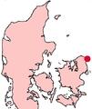 Helsingør Denmark location map.png