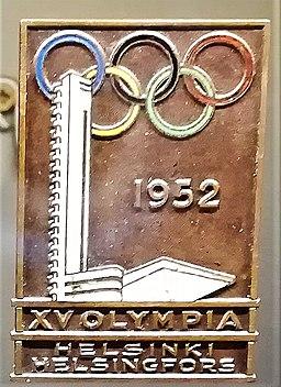 Helsinki 1952 plaque Marek Petrusewicz