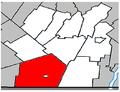 Hemmingford (township) Quebec location diagram.PNG