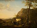 Hendrik van de Sande Bakhuyzen (1795-1860) - Herder en herderin met vee in berglandschap, 1826.jpg