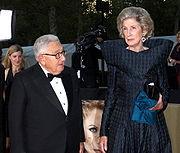Henry and Nancy Kissinger