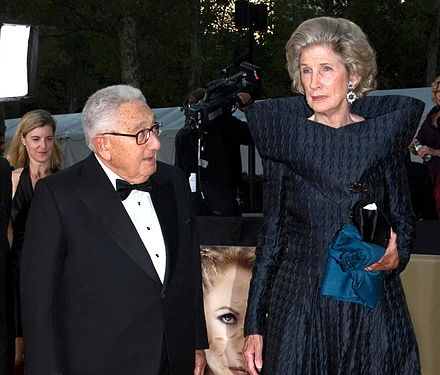 Henry and Nancy Kissinger at the Metropolitan Opera opening in 2008 Henry and Nancy Kissinger.jpg