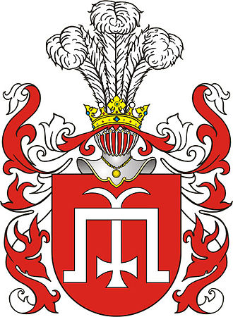 Michael Glinski - Gliński coat of arms