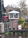 foto van Brugwachtershuisje Herman Colleniusbrug