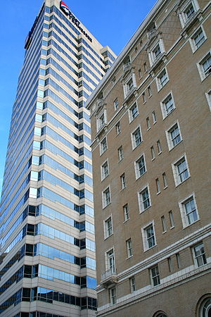 First Tennessee Building - Image: Hermitage Hotel and First Tennessee Building