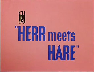 Herr Meets Hare - Title card for Herr Meets Hare