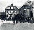 Hiša, v kateri je umrl Val. Vodnik, z južne strani.jpg