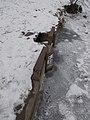 Hidegkút Lake, sluice and water gauge, 2019 Pesthidegkút-Ófalu.jpg