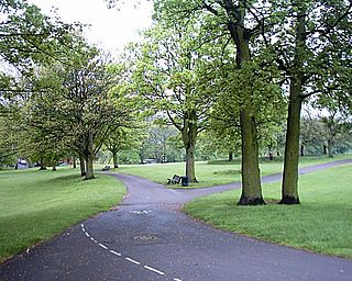 High Hazels Park Park in South Yorkshire, England