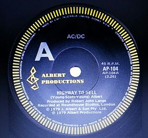 Albert Productions - AC/DC Highway to Hell (song)