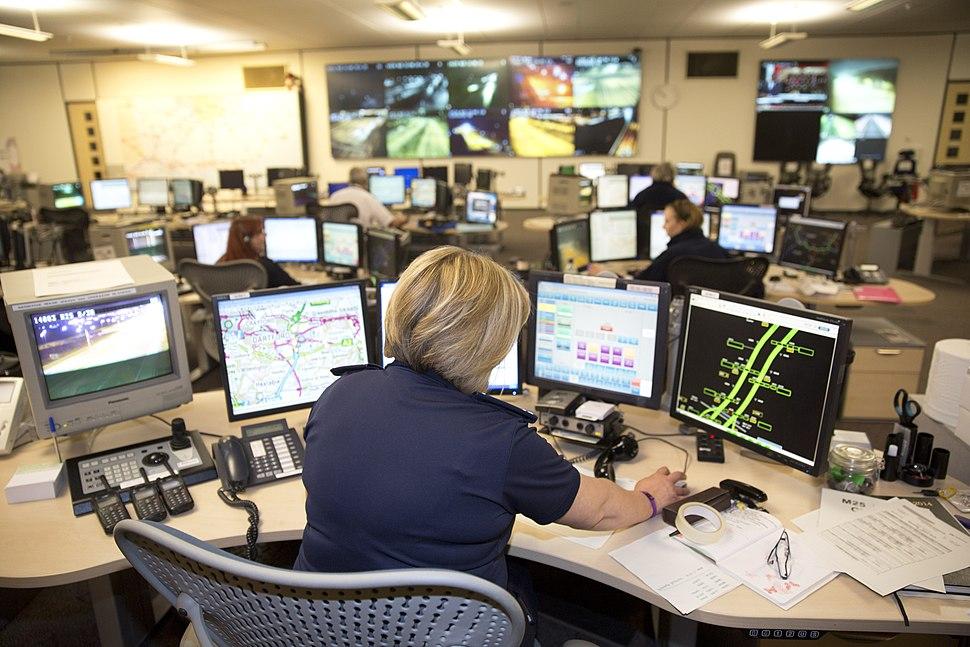 Highways Agency Smart Motorways control centre