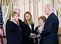 Hillary Clinton sworn in as Sec'y of State 2-2-09.jpg
