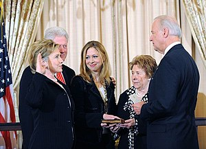 Vice President Biden swears in Secretary of St...