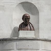 Hippocrates, UCL, Gower Street, London.JPG